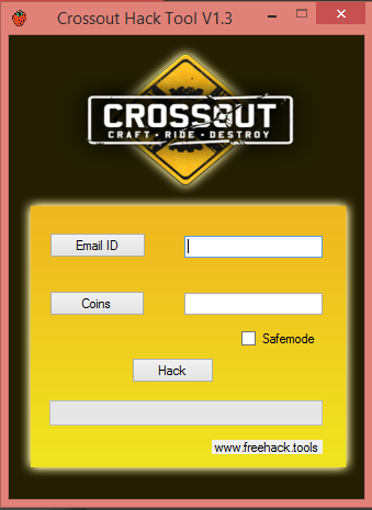 Crossout Hack Tool V1.3